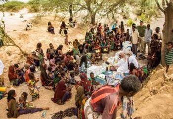 Photo Essay: Vaccine Access in Ethiopia's Remote Danakil Desert