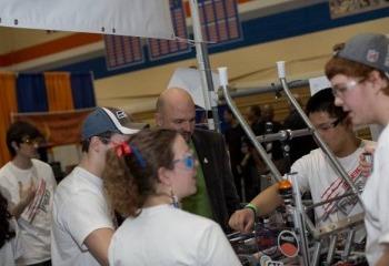 Move Along Stark Industries. Washington FIRST Robotics Rules the Robot World