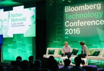 IV CEO Nathan Myhrvold Keynotes Bloomberg's Top Tech Conference on Invention